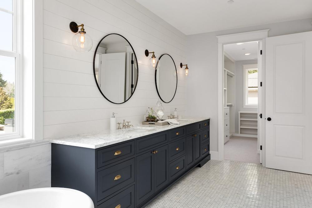 renvovera badrummet_lyxstil