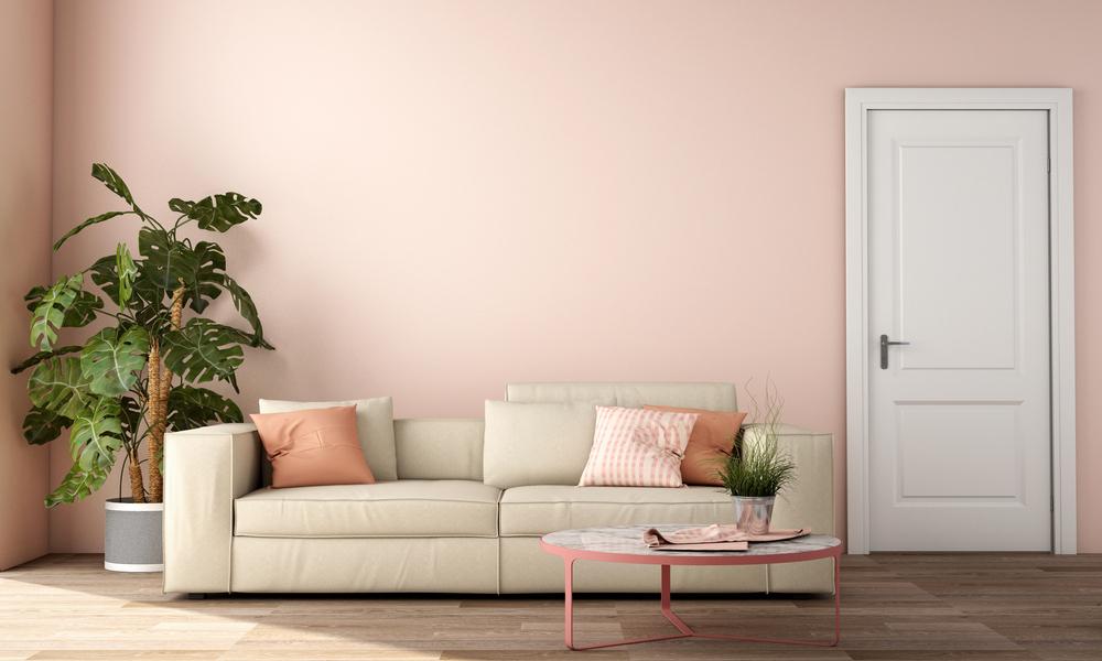 Så målar du din bostad i rosa