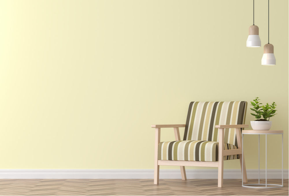 så målar du din bostad i ljusgult