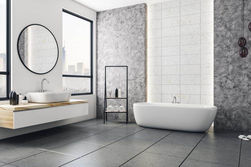 vid storstädning av badrum blir det så här rent